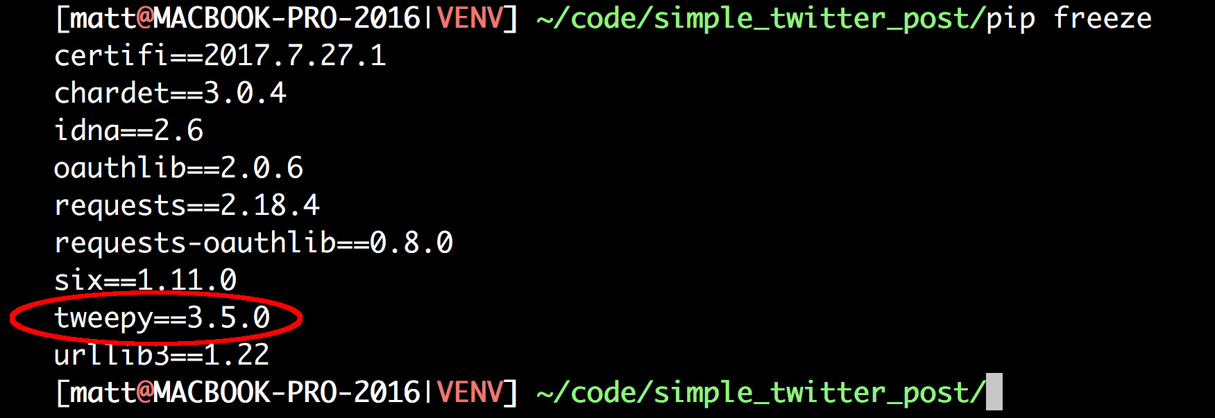 Four Simple Steps To Post To Twitter Using Python